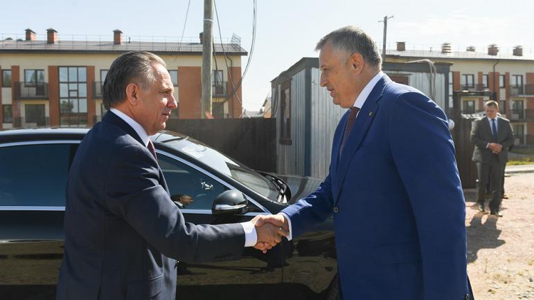 Дрозденко поделился проблемами «Норманна» с Дом.рф