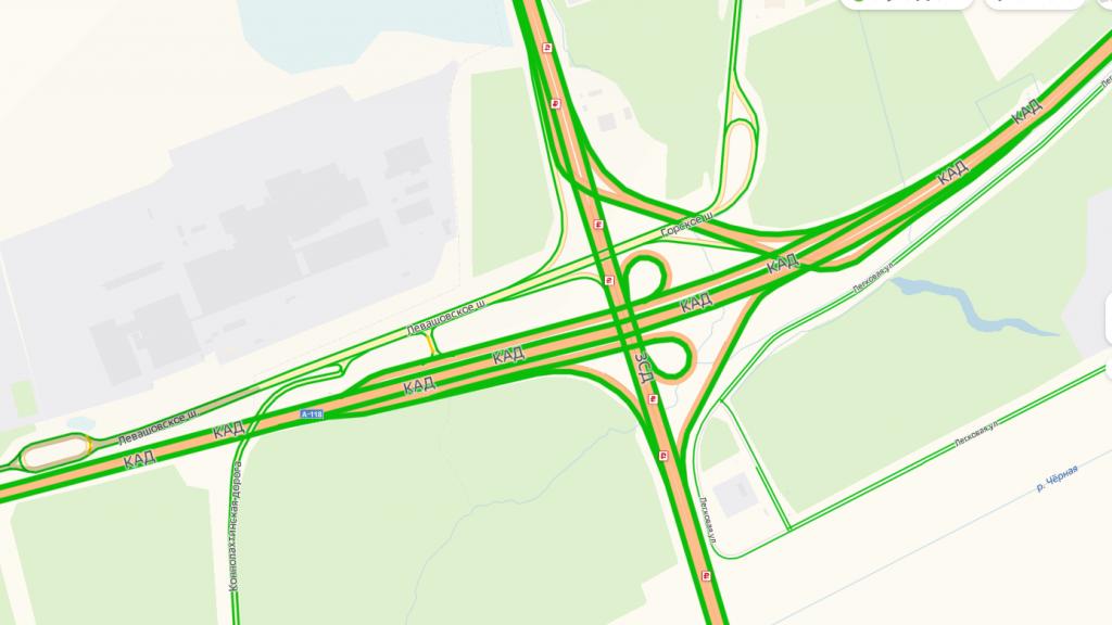 Въезд на ЗСД с Левашовского шоссе закроют на ремонт