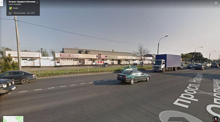 Площадь пожара в магазине автозапчастей на Народного Ополчения выросла в 7 раз