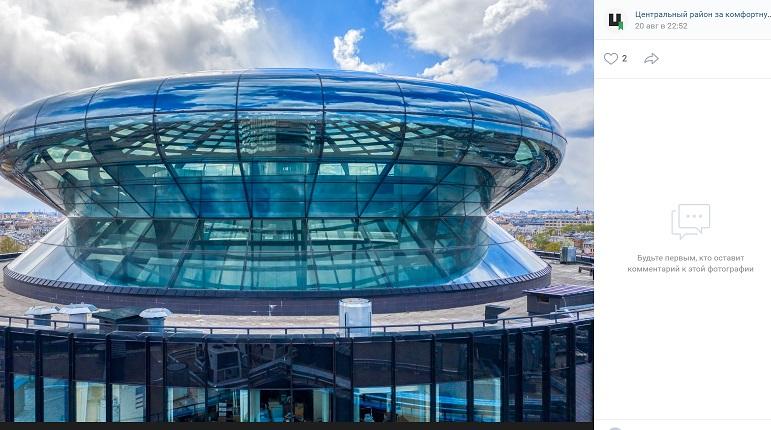 Активисты предложили разобрать стеклянный купол Невской Ратуши