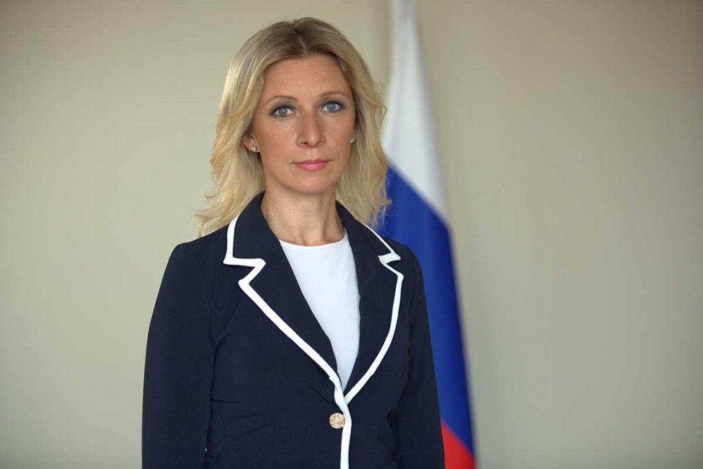 Захарова ответила на слова протоиерея о гражданских женах