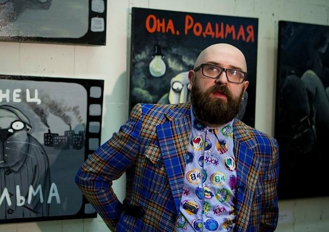 Выставка художника Васи Ложкина появилась в Петербурге