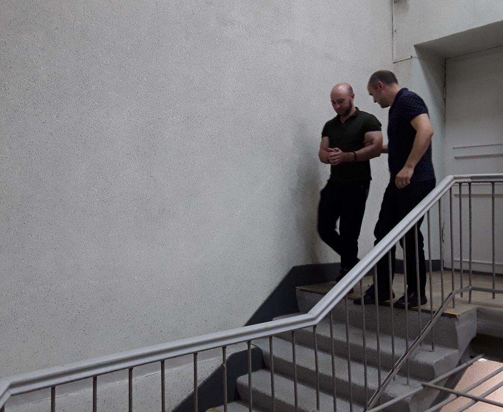 Закопавших в Петербурге чемодан с трупом суд отправил в СИЗО