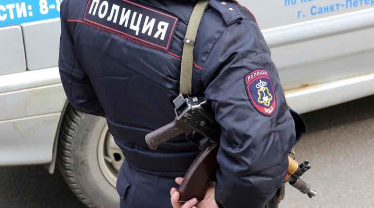 Задержанный на Ломоносова мужчина ударил полицейского по лицу