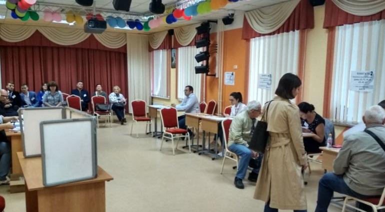 Полиция перешла на усиленный режим работы на время выборов в Петербурге