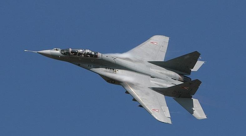 Истребитель МиГ-29 разбился в Словакии: пилот выжил