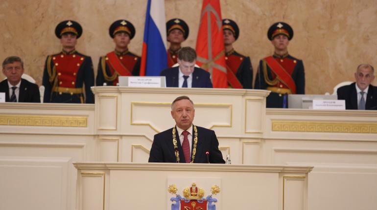 Беглов официально вступил в должность губернатора
