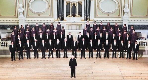 Певческая капелла Петербурга продолжает юбилейный гастрольный тур