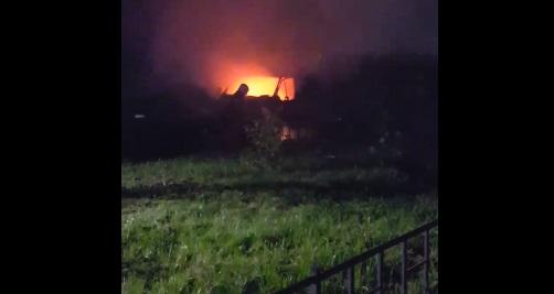 На улице Ивана Фомина ночью сгорела «ГАЗель»