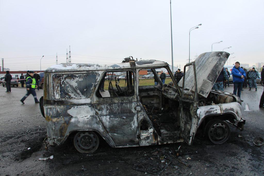 Громкое дело о расстреле омоновцев в Мурино приобрело «огненный» поворот