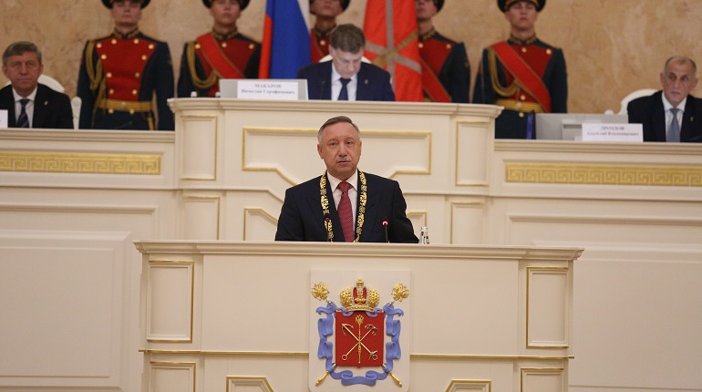 Александр Беглов стал губернатором Петербурга. Как проходила инаугурация