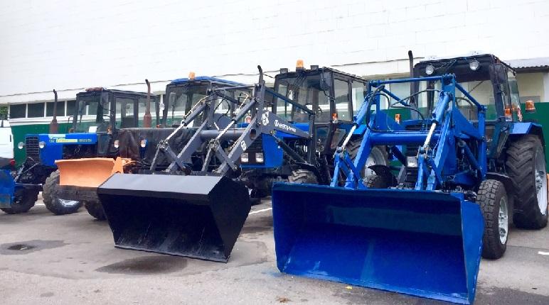 Петербург закупил уборочной техники на зиму на 3 миллиарда