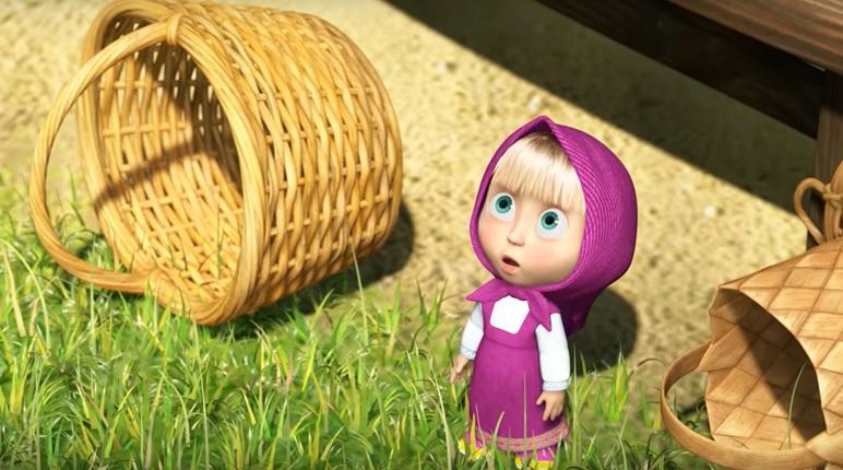 Мультфильм «Маша и Медведь» вышел в прокат в Великобритании