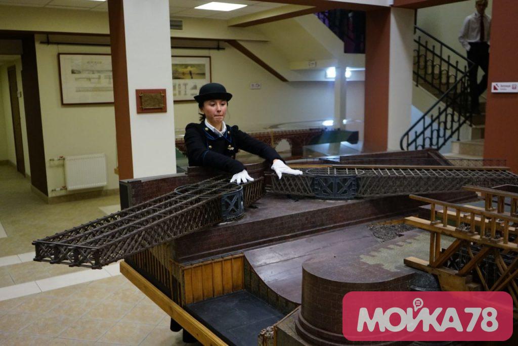 Музей мостов открыл свои двери в Мучном: фоторепортаж «Мойки78»
