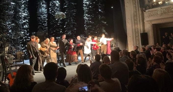 В Петербурге состоится юбилейный вечер, посвященный Театру на Васильевском