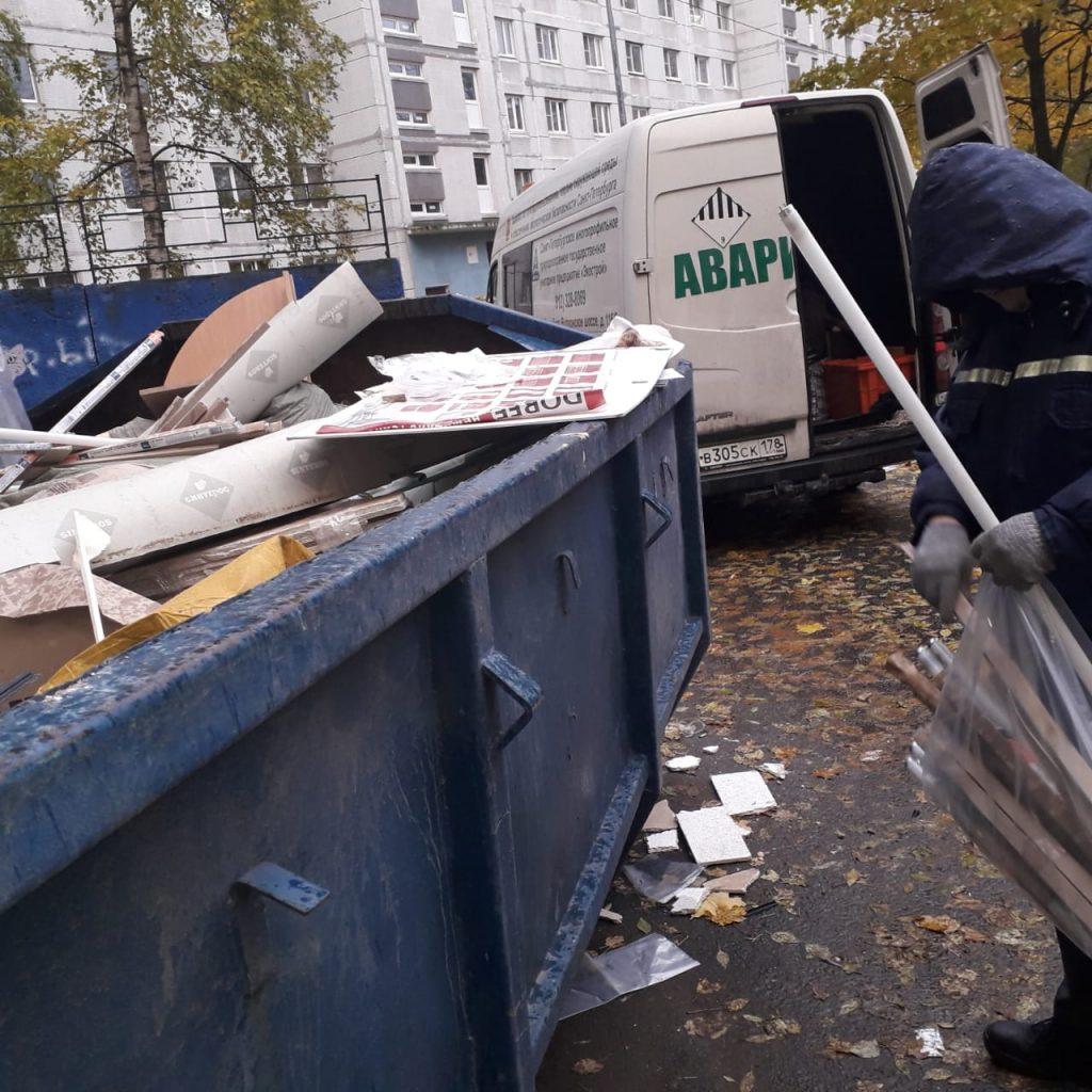 В Выборгском районе ликвидировали 300 кг химических отходов