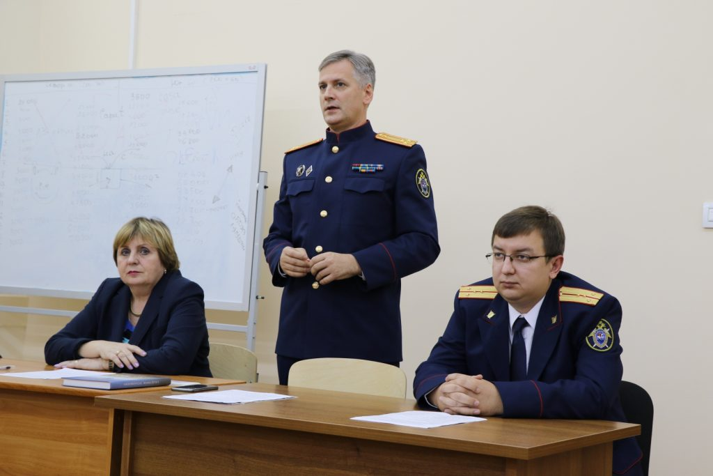Петербургским студентам приоткрыли тайны следствия