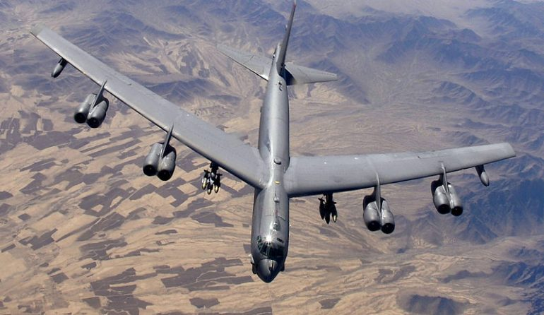США увеличили почти в пять раз полёты бомбардировщиков у границ России