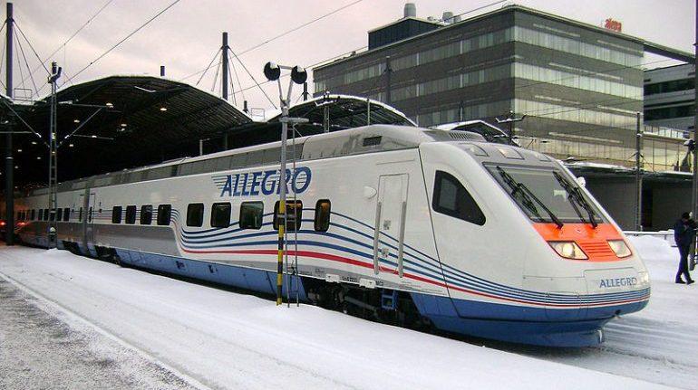 Из Хельсинки в Петербург 18 марта отправится последний поезд Allegro