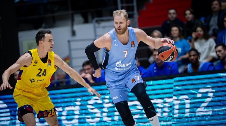Баскетбольный «Зенит» проиграл дома «Барселоне»