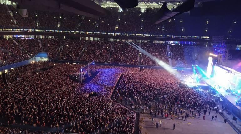 Прощальный концерт «Ленинграда» собрал рекордное число зрителей
