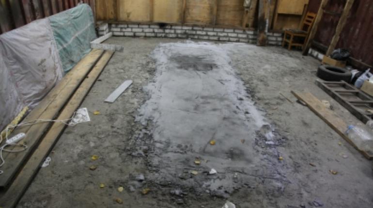 В Брянске нашли забетонированный труп
