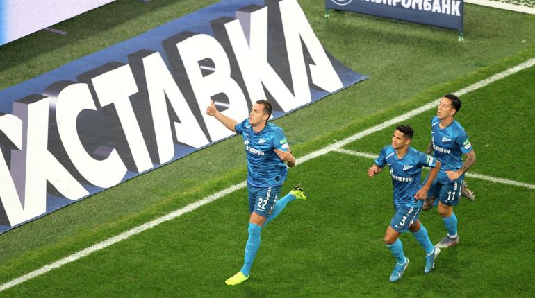 Дзюбу не остановить: нападающий «Зенита» забил уже четыре гола в матче с «Тамбовом»