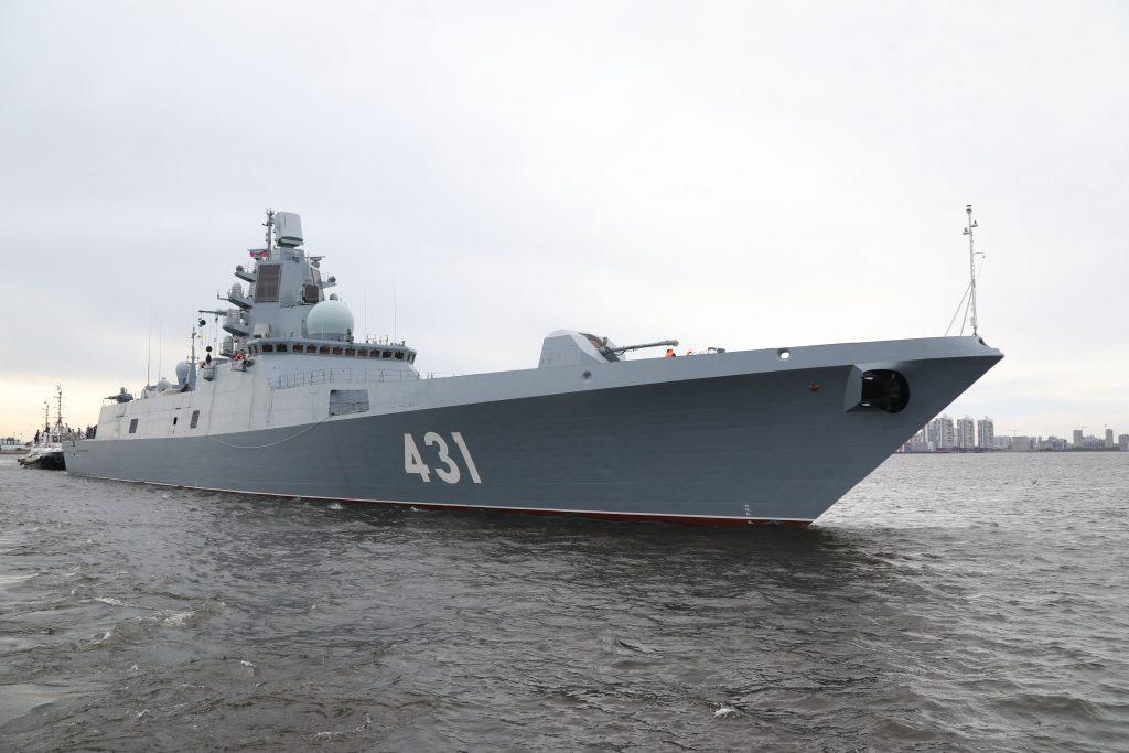Фрегат «Адмирал Касатонов» испытал защиту от высокоточных ракет
