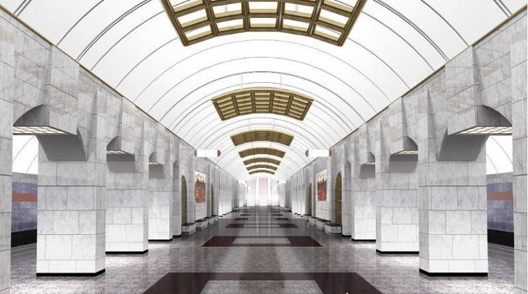 «Мойка78» показывает фотографии станций метро коричневой ветки
