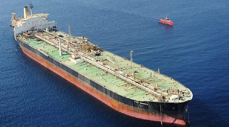 Пожар на иранском танкере в Красном море могли вызвать ракеты