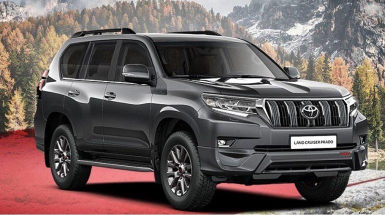 В Мурино угнали Toyota Land Cruiser Prado за 4,2 млн рублей