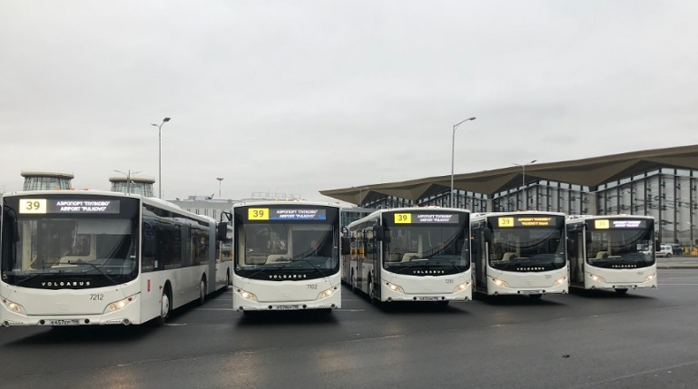 В Петербурге с 7 августа увеличат количество автобусов в Пулково