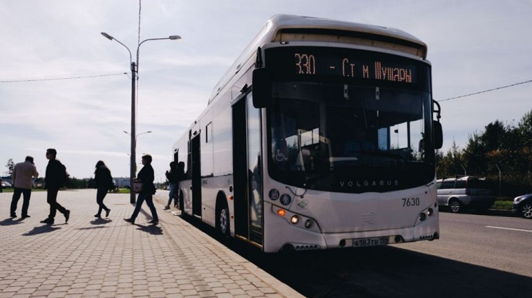 По Петербургу в этом году начнут курсировать 200 новых автобусов