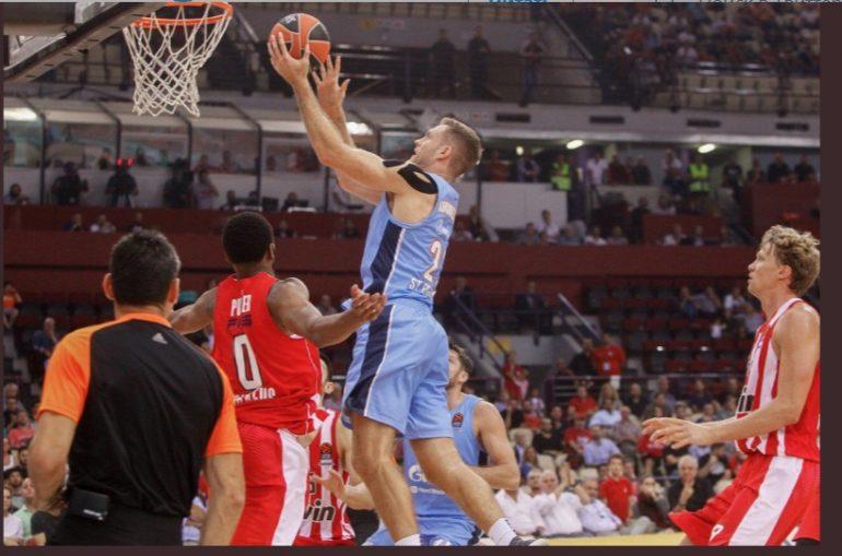 Баскетбольный «Зенит» одержал первую победу в Евролиге