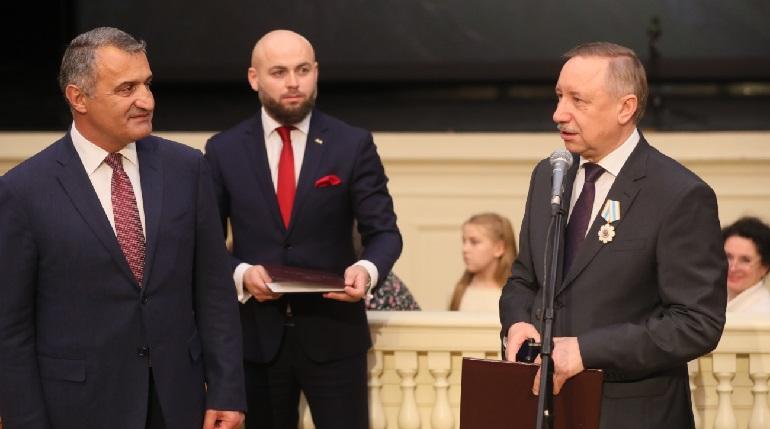 Беглова наградили Орденом Дружбы Южной Осетии