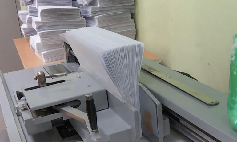 Гаджеты не заменили книгу: что печатает типография для слепых