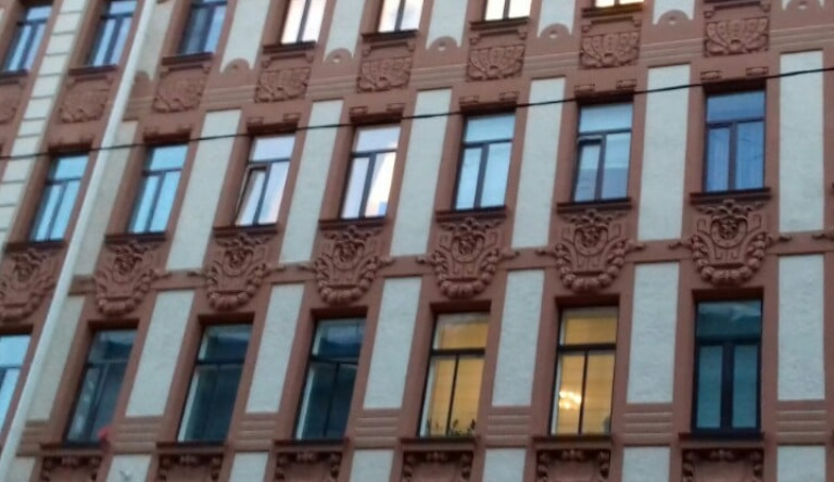 Капремонт дома Агафонова на Каменноостровском завершили на 80%