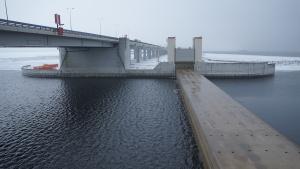 Из-за усиления ветра в Петербурге могут частично закрыть дамбу