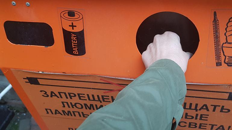 В Петербурге за месяц отправили на переработку 8 тонн опасных отходов