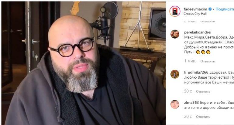 Фадеев активно работает после сердечного приступа