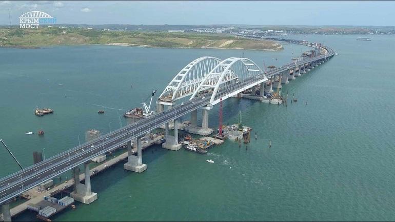 ЕС пополнил санкционный список строителей Крымского моста