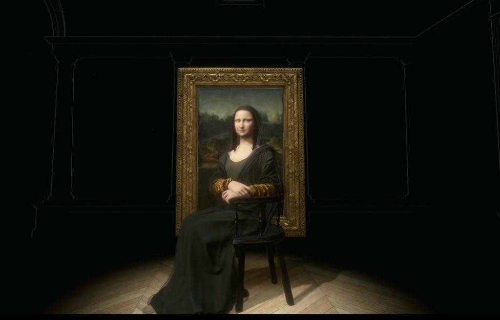3D-копия Моны Лизы появилась в Лувре
