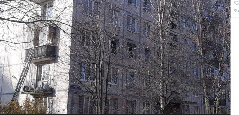 На Будапештской вспыхнула квартира — эвакуированы 26 человек