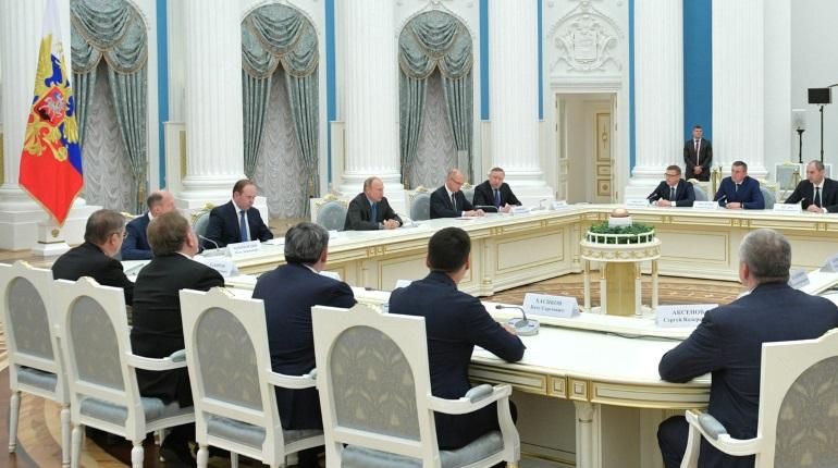 Беглов поблагодарил Путина за поддержку петербургских проектов