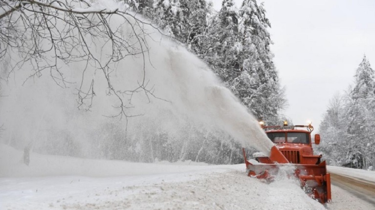 В январе от снега в Ленобласти очистили 18 тысяч километров трасс