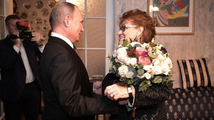 Путин прислушивался к советам Людмилы Вербицкой