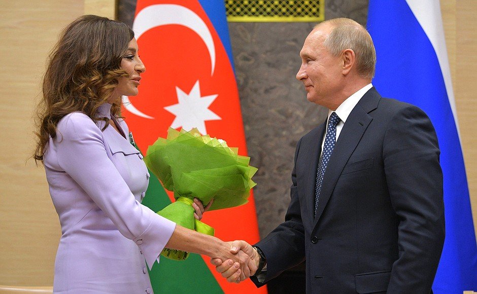 Путин встретится с президентом Азербайджана Алиевым 20 декабря в Петербурге