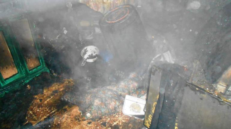 Трое погибли при пожаре в забайкальском селе