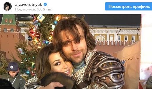Налоговая служба Петербурга заблокировала счета мужа Заворотнюк