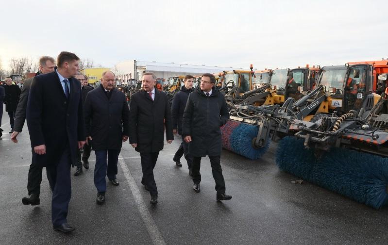 Беглов подвел итоги рабочей недели в Петербурге